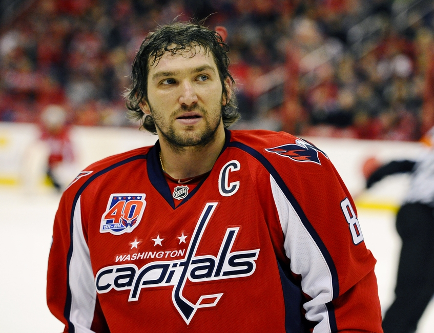 Alex Ovechkin Named Second Star Of The Week