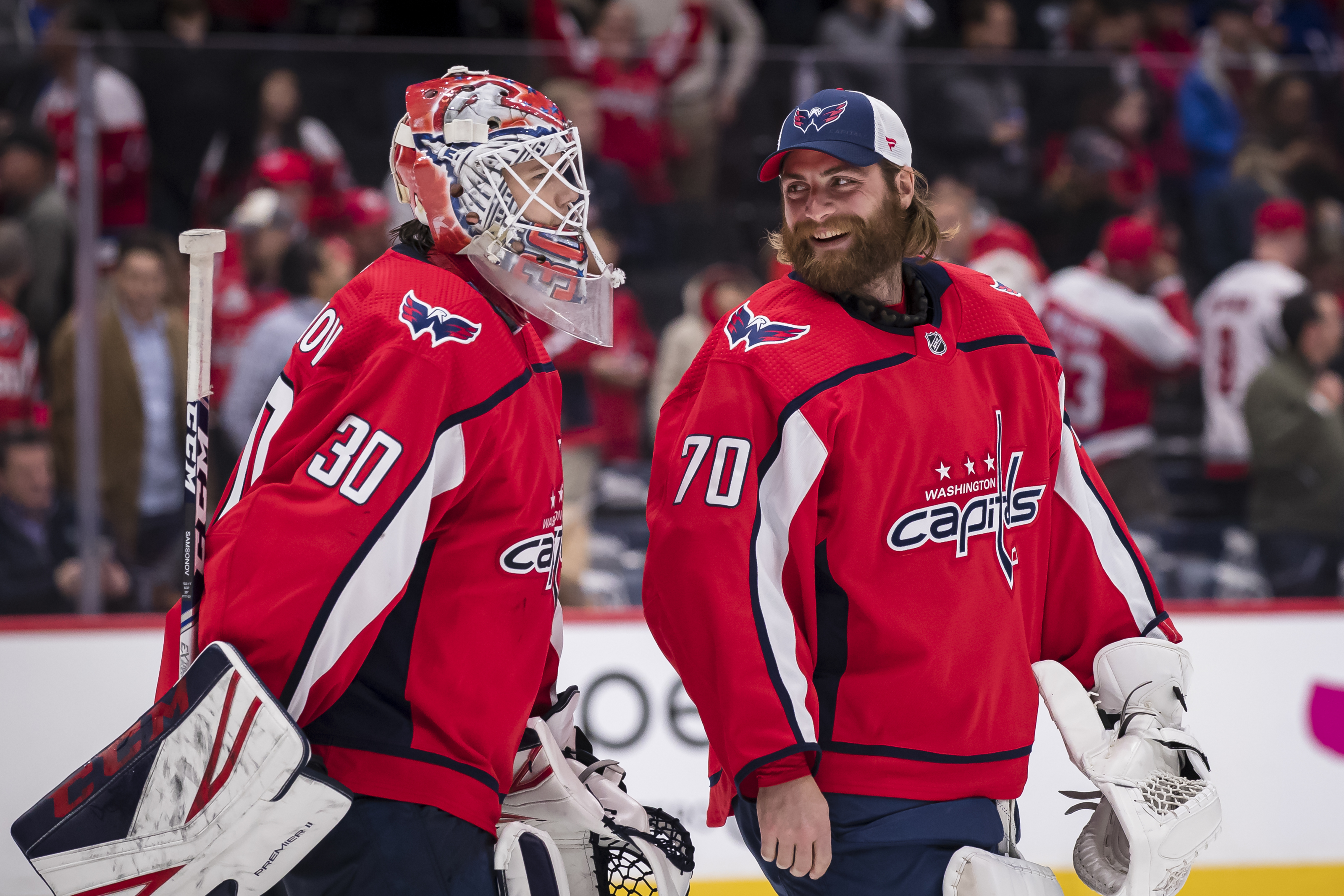 How Well Are The Capitals Goalies Playing This Season